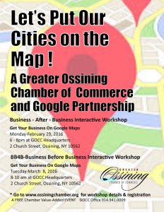 Chamber Flyer.GoogleMapsEvent.2016
