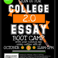 Essay Boot Camp 20Fall 2017