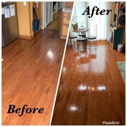 Your floors will shine like new!